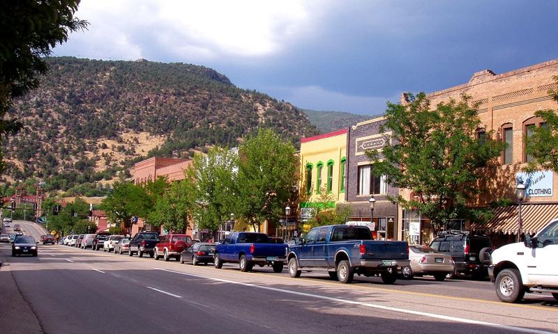 Glenwood Springs Colorado Downtown