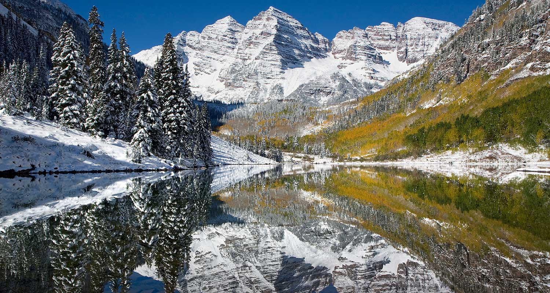 Aspen colorado cabins cabin rentals alltrips for Colorado cabin winter